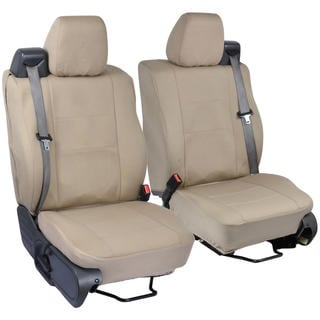 Ford F-150 Custom Fit Beige Seat Covers Regular and Extended Cab 04-08 Integrated Seat Belt