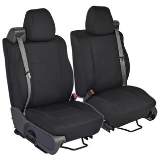 Ford F-150 Custom Fit Black Seat Covers Regular and Extended Cab 04-08 Integrated Seat Belt