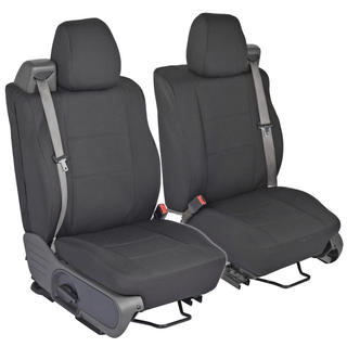 Ford F-150 Custom Fit Charcoal Seat Covers Regular and Extended Cab 04-08 Integrated Seat Belt