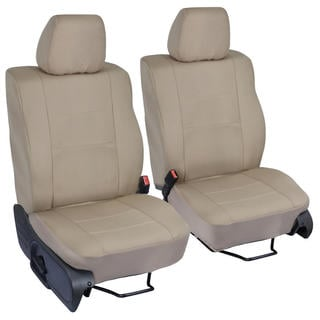 Ford F-150 Beige Custom Fit Seat Covers Crew Cab 04-08 Bucket Seat