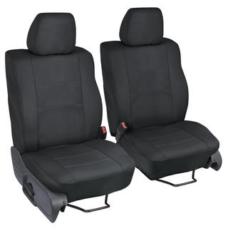 Ford F-150 Black Custom Fit Seat Covers Crew Cab 04-08 Bucket Seat