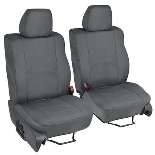 Ford F-150 Charcoal Custom Fit Seat Covers Crew Cab 04-08 Bucket Seat
