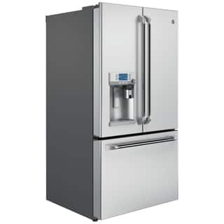 GE Cafe Series 27.8 Cubic Foot Freestanding French-Door Refrigerator|https://ak1.ostkcdn.com/images/products/11168007/P18162697.jpg?impolicy=medium