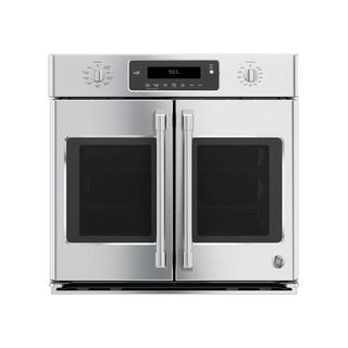 GE Cafe Series CT9070SHSS 30-inch Single French Door Electric Wall Oven