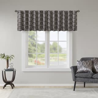 Madison Park Marcel Embroidery Taffeta Valance|https://ak1.ostkcdn.com/images/products/11169264/P18163686.jpg?impolicy=medium