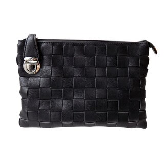 Olivia Miller 'Candice' Woven Clutch