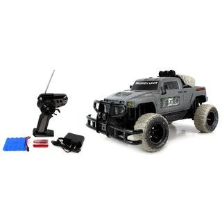 Velocity Toys Mud Monster Hummer H3T Pickup Battery Operated Remote Control RC Off-Road Truck Big 1:10 Scale