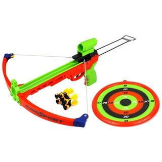 Velocity Toys Supreme Shooter Children's Kid's Toy Crossbow Dart Play Set