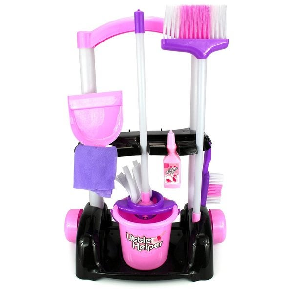 Shop Velocity Toys Little Helper Cleaning Trolley Cart 32