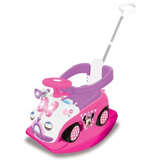 Kiddieland Disney Minnie Mouse 4 in 1 Activity Ride-On
