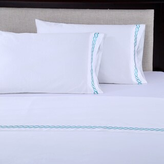 Gracewood Hollow Tolkien 600 Thread Count Embroidered Sheet Set