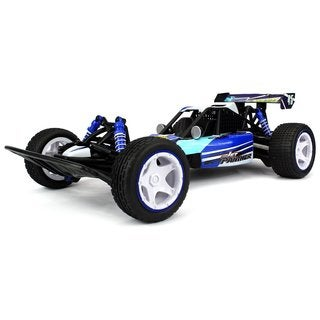 Velocity Toys Jet Panther RC Remote Control Off-Road Buggy 2.4 GHz Transmitter Control Big 1:10 Size 15+ MPH