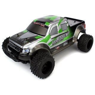 Velocity Toys FX Blazer Remote Control RC Truck, High Performance Lithium Battery, Big Size 1:10 Scale RTR