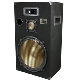 Podium Pro PPB15 PA Band DJ Karaoke 700 Watt 15-inch Deluxe Three Way Speaker Monitor