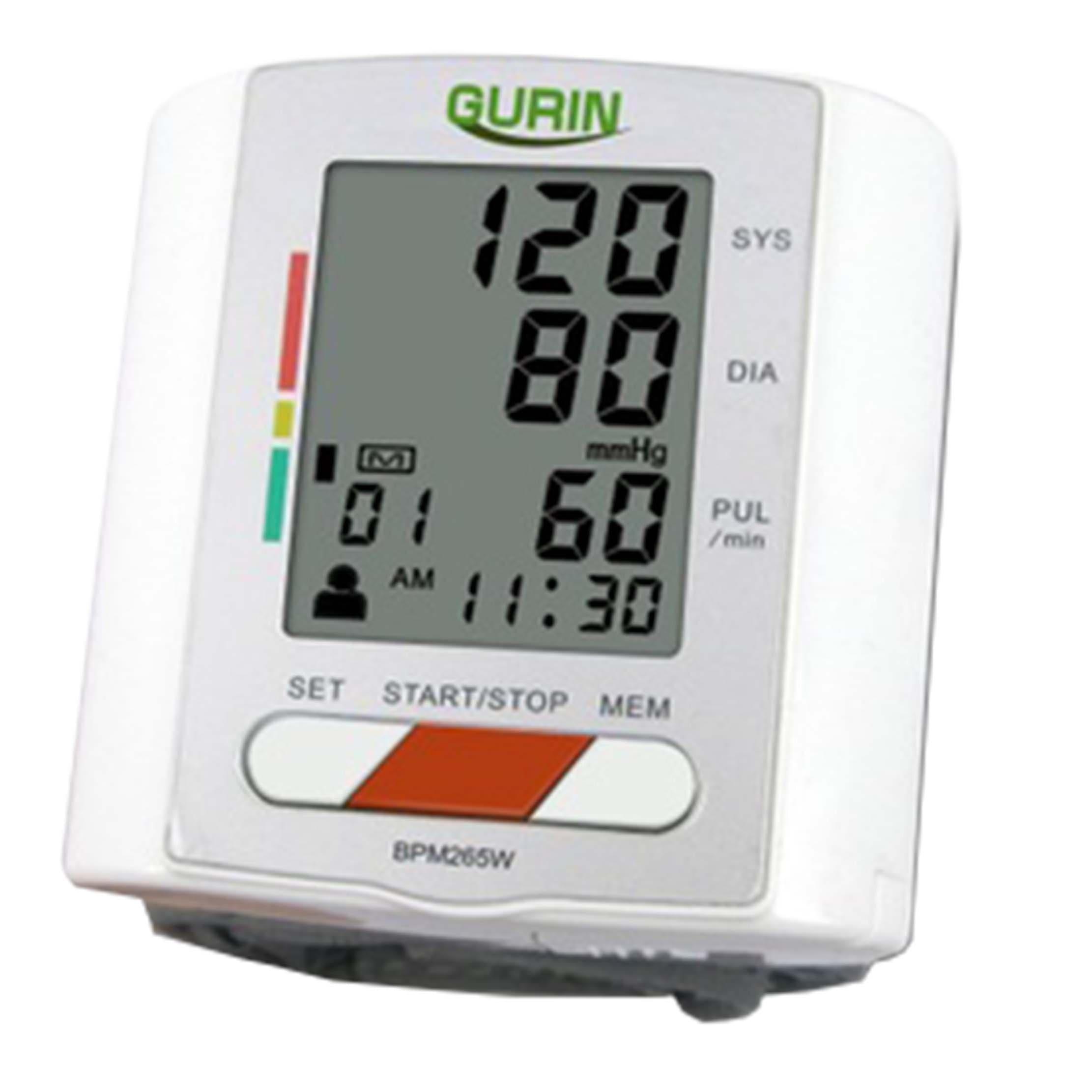 Gurin Professional Wrist Digital Blood Pressure Monitor w...