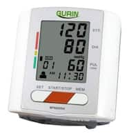 Gurin Professional Wrist Digital Blood Pressure Monitor with Heart Health and Hypertension Indicator (2 User)
