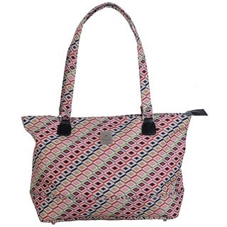Jenni Chan Tiles 18-inch Fashion Laptop Tote Bag