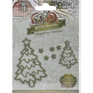 Find It Trading Yvonne Creations Magnificent Christmas Die Christmas Star Tree