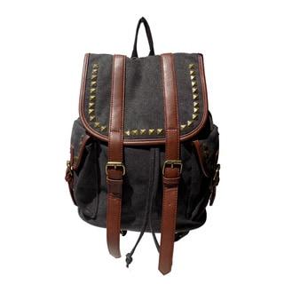 Olivia Miller 'Jane' Multi-studded Drawstring Backpack