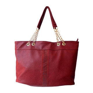 Olivia Miller 'Giselle' Heat Sealed Tote Handbag