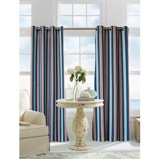 Softline Sunline Verne Stripe Indoor/Outdoor Curtain Panel