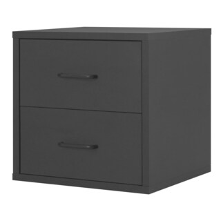 Porch & Den Medford Tamarack 2-Drawer Cube