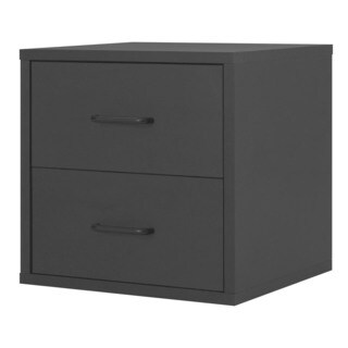 Porch & Den Medford Tamarack 2-Drawer Cube