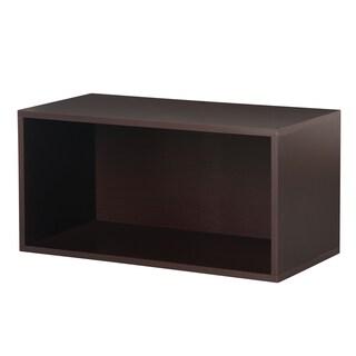 Large Open Cube (Option: Espresso)