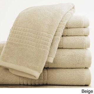 Arlington Egyptian Cotton 6-Piece Towel Set (Option: Beige)