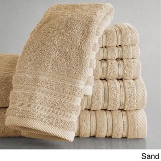 Colingston Cotton 6-Piece Towel Set (Option: Sand)