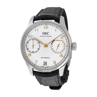 IWC Men's IW500704 Portuguese Silver Watch