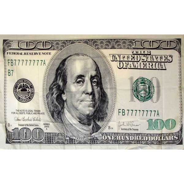 Shop 100 Dollar Bill Novelty Flag Free Shipping Today