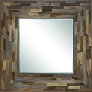 Ren Wil Midiron Framed Square Mirror