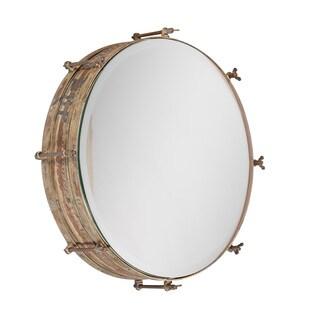 Ren Wil Pacheco Framed Round Mirror