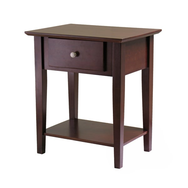 Stratford Console Table Shaker Night Stand with Drawer - Free Shipping Today - Overstock.com ...