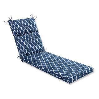 Pillow Perfect Outdoor/ Indoor Garden Gate Navy Chaise Lounge Cushion