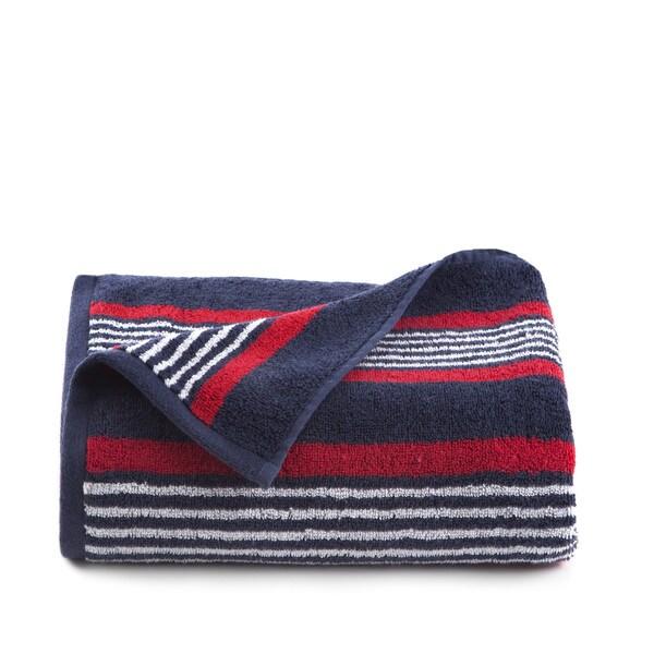IZOD Racer Stripe Bath Towel (set of 2)