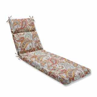 Pillow Perfect Outdoor/ Indoor Hadia Sunset Chaise Lounge Cushion