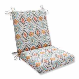 Pillow Perfect Outdoor/ Indoor Eresha Oasis Squared Corners Chair Cushion