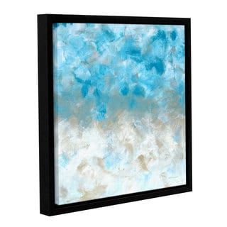 ArtWall Herb Dickinson's Above The Clouds, Gallery Wrapped Floater-framed Canvas