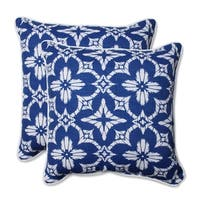 Pillow Perfect Outdoor/ Indoor Aspidoras 18.5-inch Throw Pillow (Set of 2)