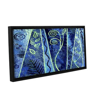 ArtWall Herb Dickinson's Abstract 417, Gallery Wrapped Floater-framed Canvas
