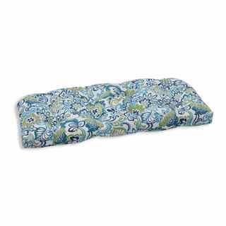 Pillow Perfect Outdoor/ Indoor Zoe Mallard Wicker Loveseat Cushion