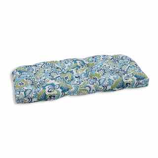 Pillow Perfect Outdoor/ Indoor Zoe Mallard Wicker Loveseat Cushion
