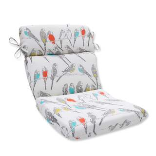 Pillow Perfect Outdoor/ Indoor Retweet Mango Rounded Corners Chair Cushion