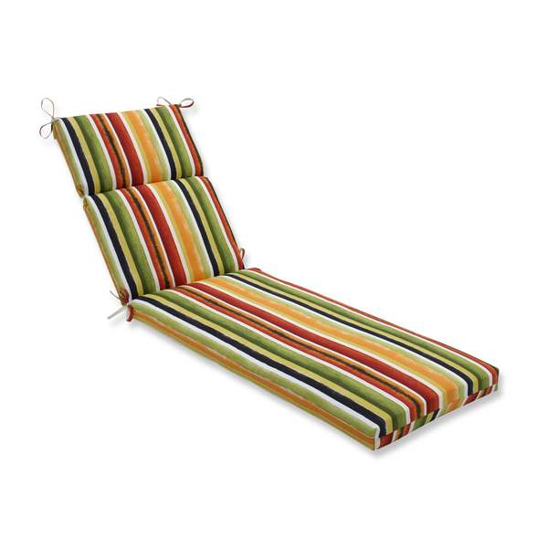 Shop Pillow Perfect Outdoor Indoor Dina Noir Chaise