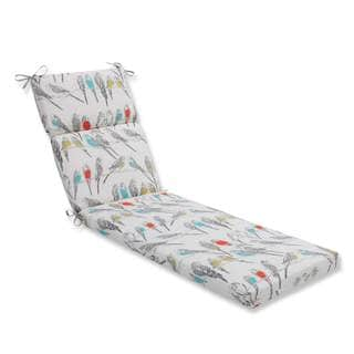 Pillow Perfect Outdoor/ Indoor Retweet Mango Chaise Lounge Cushion
