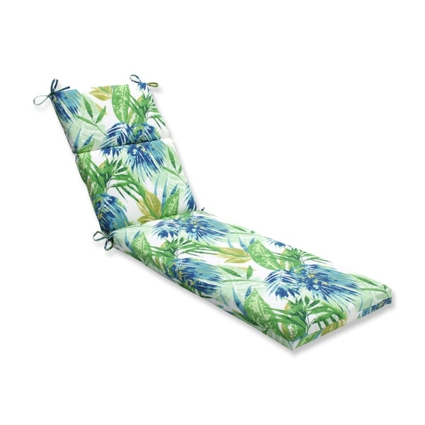Pillow Perfect Outdoor Indoor Soleil Blue Green Chaise Lounge Cushion On Free Shipping Today 11170448