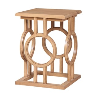 Guildmaster Circle Cut Out Accent Table