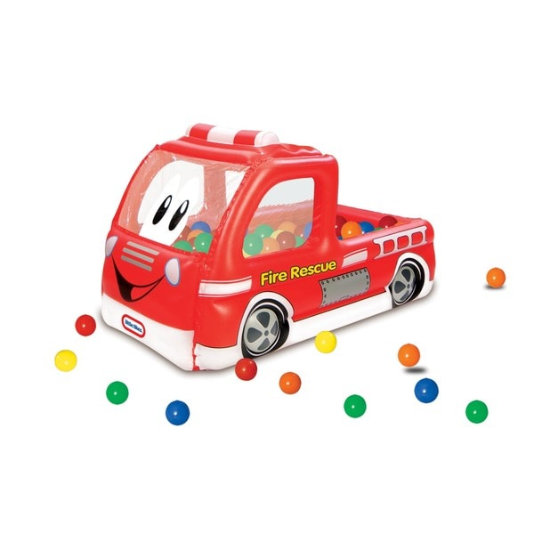Little Tikes Fire Truck Play Center Ball Pit